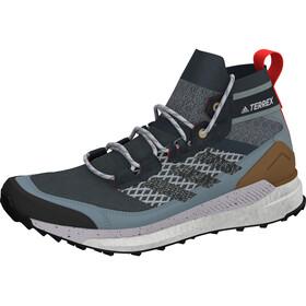 adidas TERREX Free Hiker Blue Wandelschoenen Heren, legacy blue/dgh solid grey/ash grey
